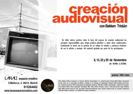 Creación  Audiovisual LANAU